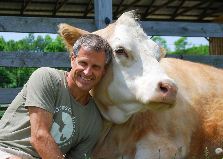 Gene Baur is president and co-founder of Farm Sanctuary. Photo: Farm Sanctuary