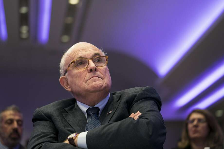 Rudy Giuliani, President Trump's attorney, says the president is busy preparing for the summit with North Korea. A decision on whether to grant an interview in the Russia probe will follow. Photo: Erin Schaff / New York Times