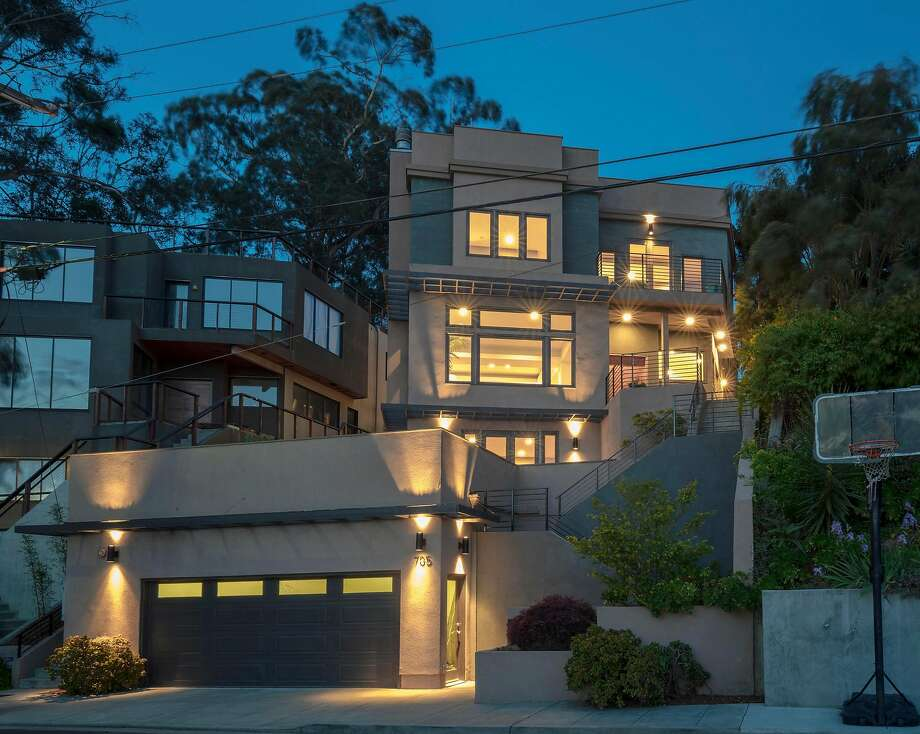 The five-bedroom Albany home was built in 2008. Photo: Christian Klugmann Architectural Photography
