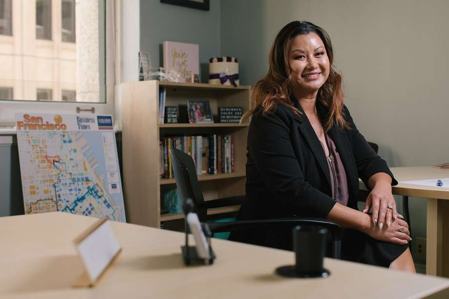 Tallia Hart, president of the San Francisco Chamber of Commerce, says businesses must be part of the solution to street misery. Photo: Peter Prato / Special To The Chronicle