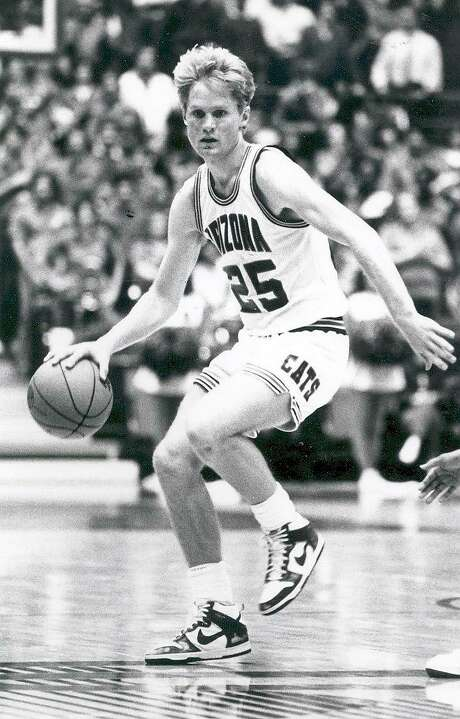 Kerr as a guard for the University of Arizona Wildcats in Tucson, circa 1987. Photo: Collegiate Images