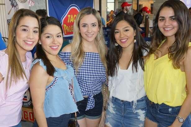 Tanya Camero, Larissa Franco, Paola Cavazos, Leslie France and Carolina Ramirez at Uni-Trade Stadium   Friday, May 11, 2018