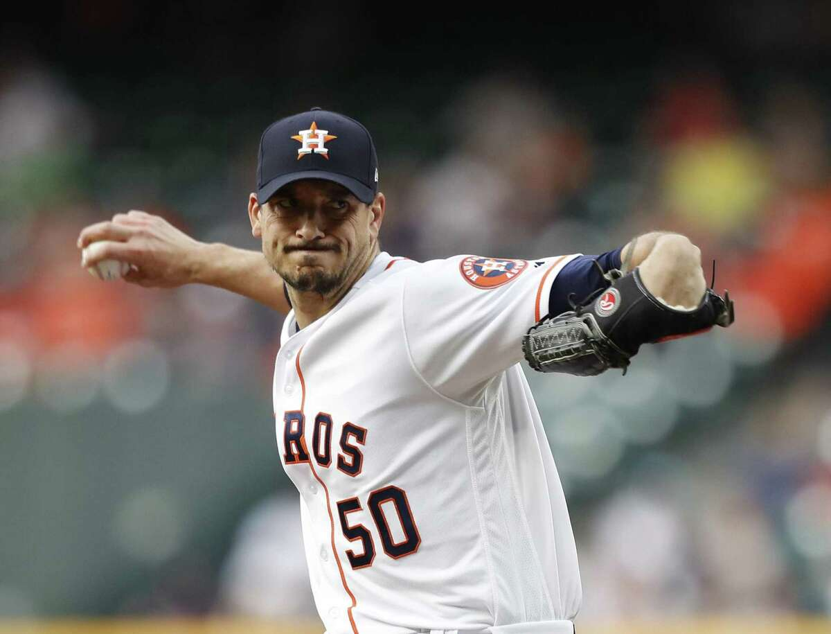 Astros righthander Charlie Morton, who is scheduled to pitch Saturday, is 4-0 with a 2.16 ERA in seven starts this season.