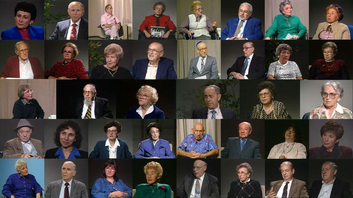 Survivors who were interviewed for the Brookline Holocaust Witness Project.