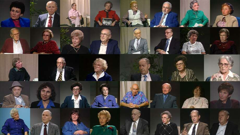 Survivors who were interviewed for the Brookline Holocaust Witness Project. Photo: Courtesy Of Harvey Bravman