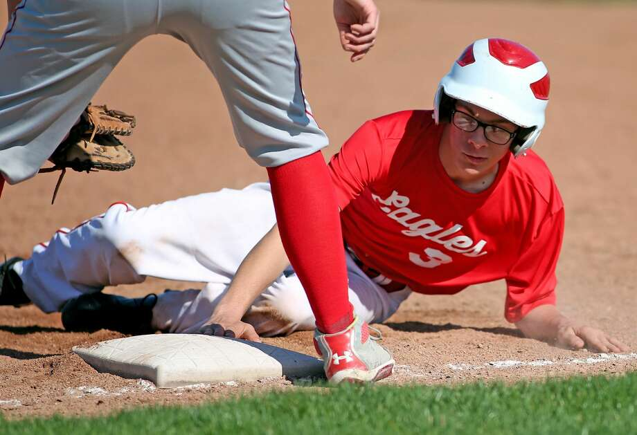 Owen-Gage at Caseville — Baseball/Softball 2018 Photo: Paul P. Adams/Huron Daily Tribune