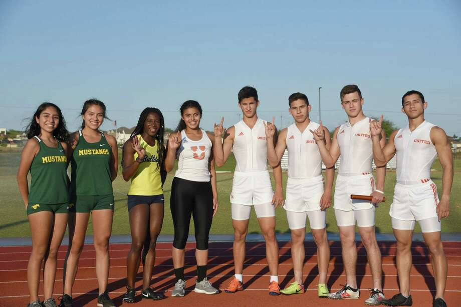 Eight Laredoans will compete this weekend at the 2018 Track & Field State Meet in Austin. Among them are Nixon's Alexa Rodriguez and Veronica Garcia, Alexander's Cynthia Emeremnu, and United's Sadey Rodriguez, Ivan Alaniz, Brandon Esparza, Dominic Castro and Alex Tirado. Photo: Christian Alejandro Ocampo /Laredo Morning Times / Laredo Morning Times