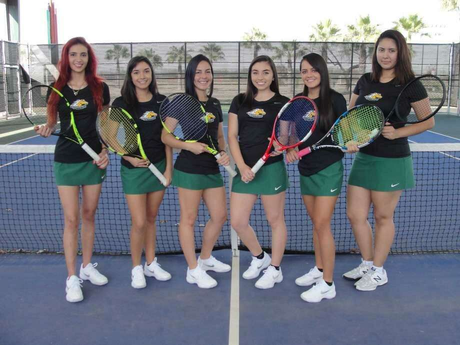 The Palominos women's tennis team concluded the spring season Thursday at 16th in the nation after the NCJAA championships in Waco. Photo: Courtesy Of LCC Athletics