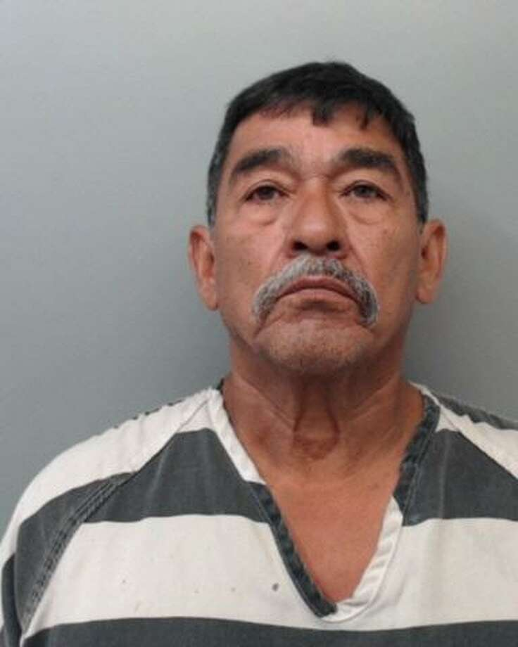 Rodolfo Flores-Ramos, 62, was charged with displaying harmful material to a minor. Photo: Webb County Sheriff's Office