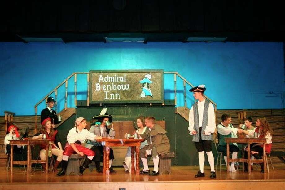 Calvary Baptist Academy students perform in'Treasure Island.' (Photo provided)