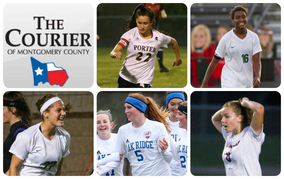 Porter's Kelly Rodriguez, The Woodlands' Jazzy Richards, The Woodlands' Peyton Graves, Oak Ridge's Grace Eason and Magnolia's Brooke Mallory are The Courier's nominees for Player of the Year.