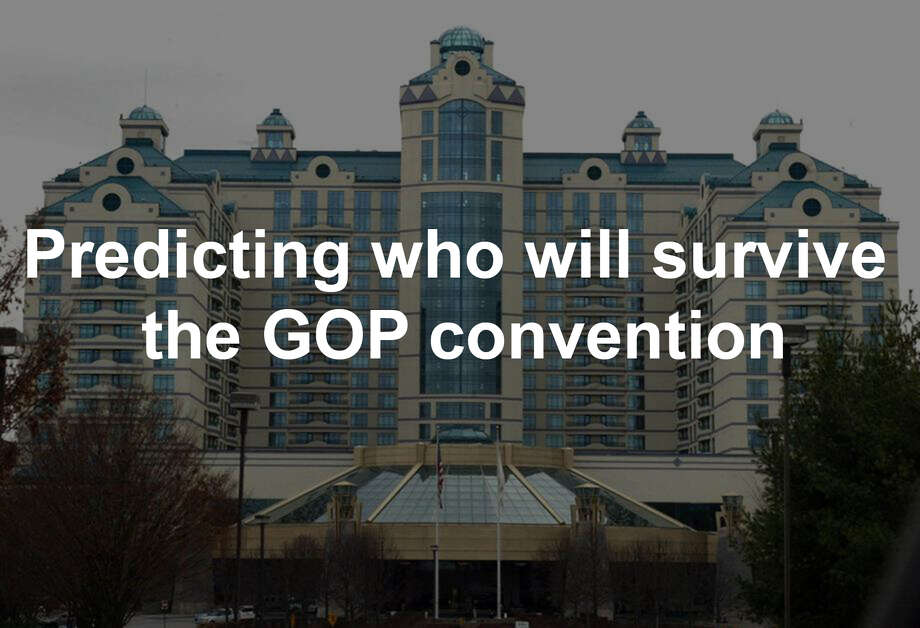 The Connecticut GOP nominating convention takes place May 11-12, 2018 at Foxwoods. Here are Dan Haar's predictions for first ballot votes.... Photo: Phil Noel / ST
