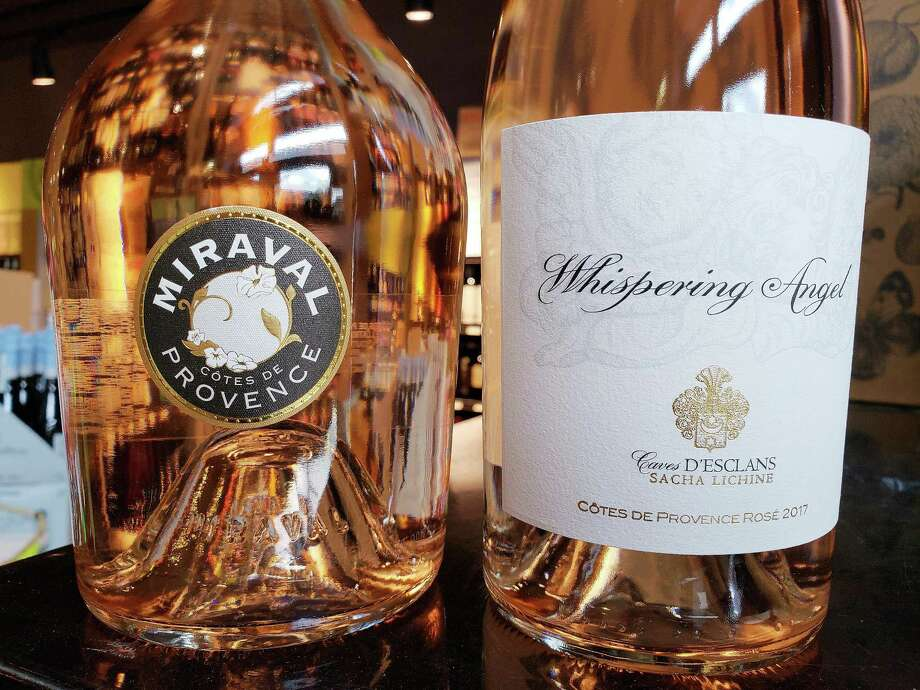 Chateau Miraval and Whispering Angel are leading brands of rose in Fairfield County. Photo: Frank Whitman / Contributed Photo / Norwalk Hour contributed