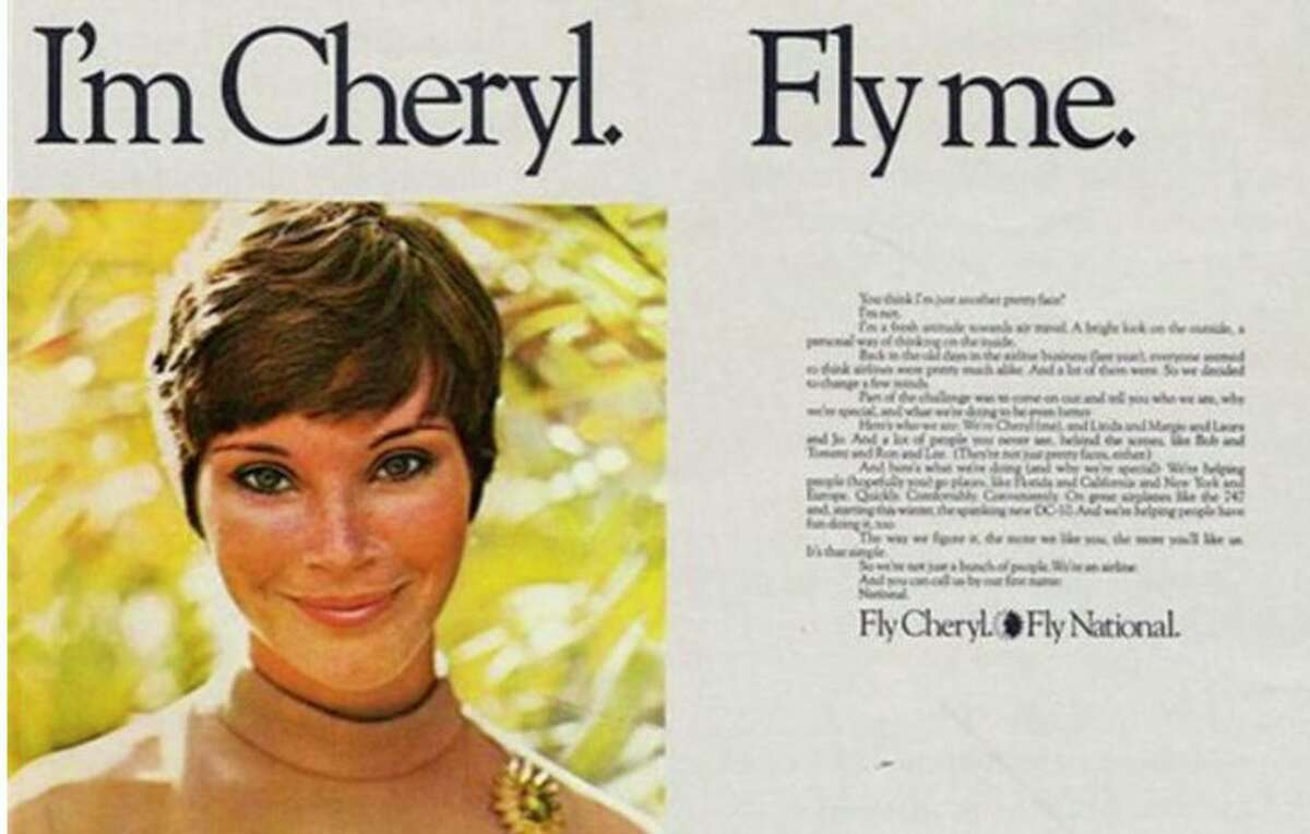 A National Airlines print ad from the 1970s.