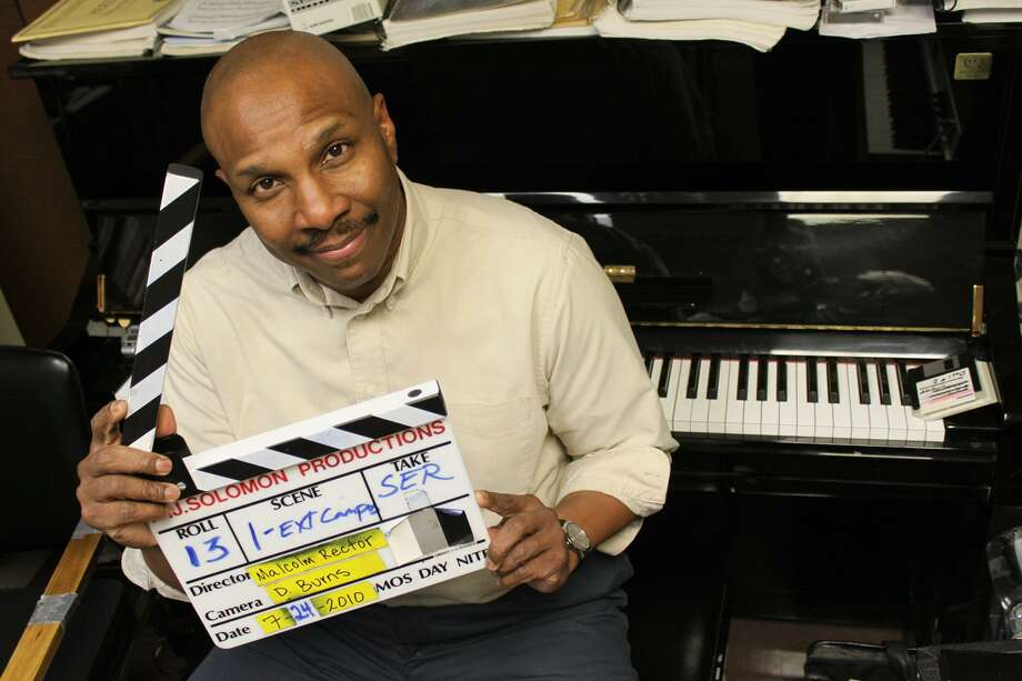 Malcolm Solomon is a music professor at University of St. Thomas. He is also an accomplished screenplay and composition writer. Photo: University Of St. Thomas / Ronnie Piper / Ronnie Piper