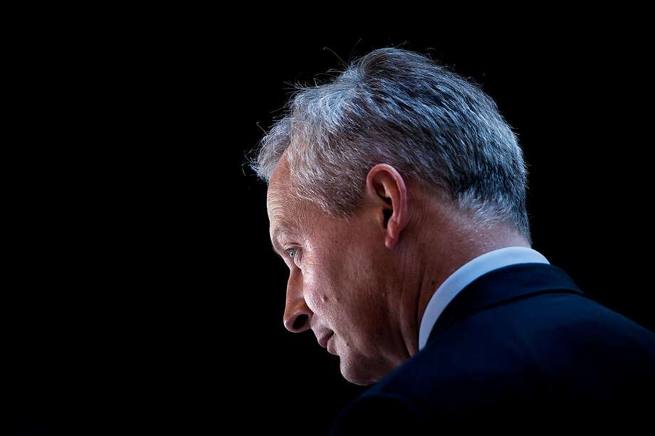 """France Finance Minister Bruno Le Maire said Europe should not accept the U.S. as the """"world's economic policeman."""" Photo: Brendan Smialowski / AFP / Getty Images"""