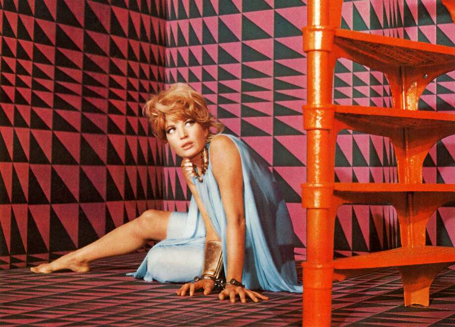 """Monica Vitti stars as the title character in Joseph Losey's """"Modesty Blaise,"""" a 1966 silly adven ture movie based on a British comic strip that revels in the Swinging Sixties. Photo: 20th Century Fox 1966"""