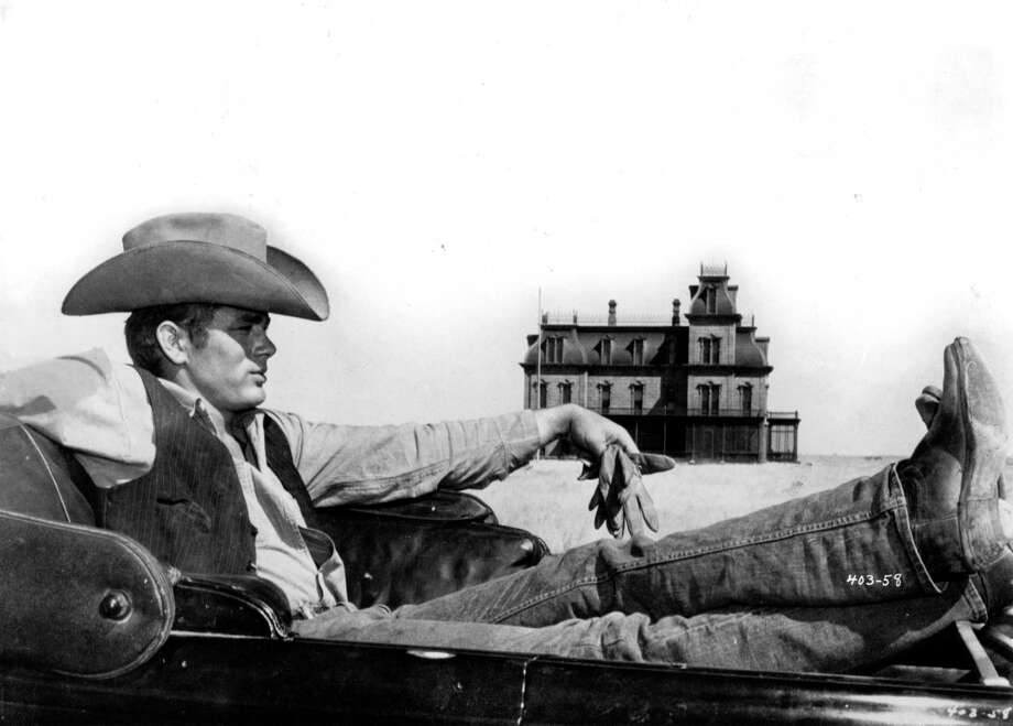 "James Dean completed his work on the Texas epic ""Giant"" just before the Sept. 30, 1955, car accident that killed him. Photo: Warner Bros. / Contributed Photo / HANDOUT PRINT"