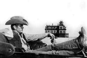 "James Dean completed his work on the Texas epic ""Giant"" just before the Sept. 30, 1955, car accident that killed him."