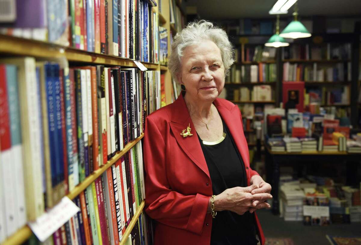 Diane Garrett, of Diane's Books in Greenwich, attributes her success to three Cs: compassion, curiosity and communication.
