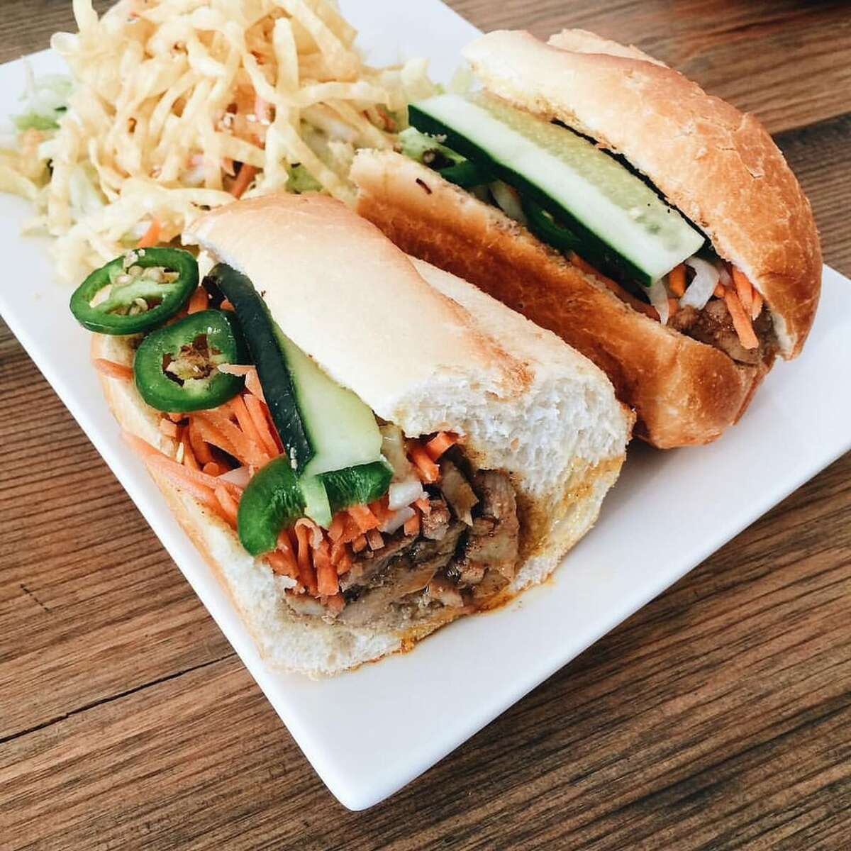 """10. Banh Town, Greenwood Anna D.: """"Wanted banh mi for lunch and this was the first place that popped up. It was sooooo good. I got the Five Spice Grilled Chicken and spring rolls. Plenty of food, reasonable price and super tasty!"""""""