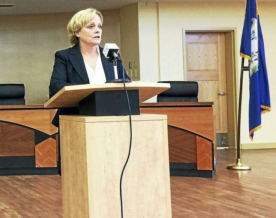 Torrington Mayor Elinor Carbone Photo: Ben Lambert / File Photo