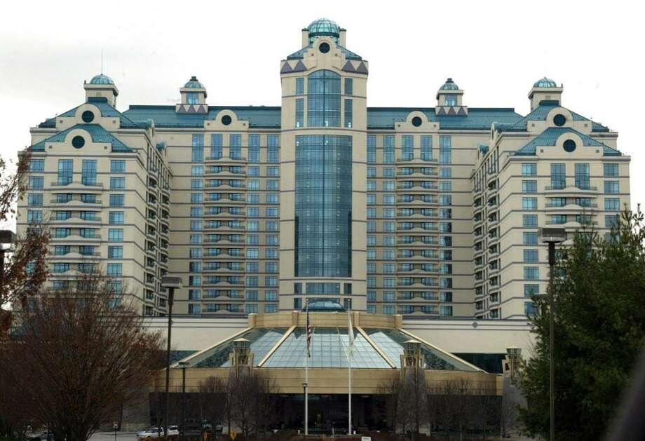 The exterior of Foxwoods Casino Photo: File Photo / File Photo / Connecticut Post file photo