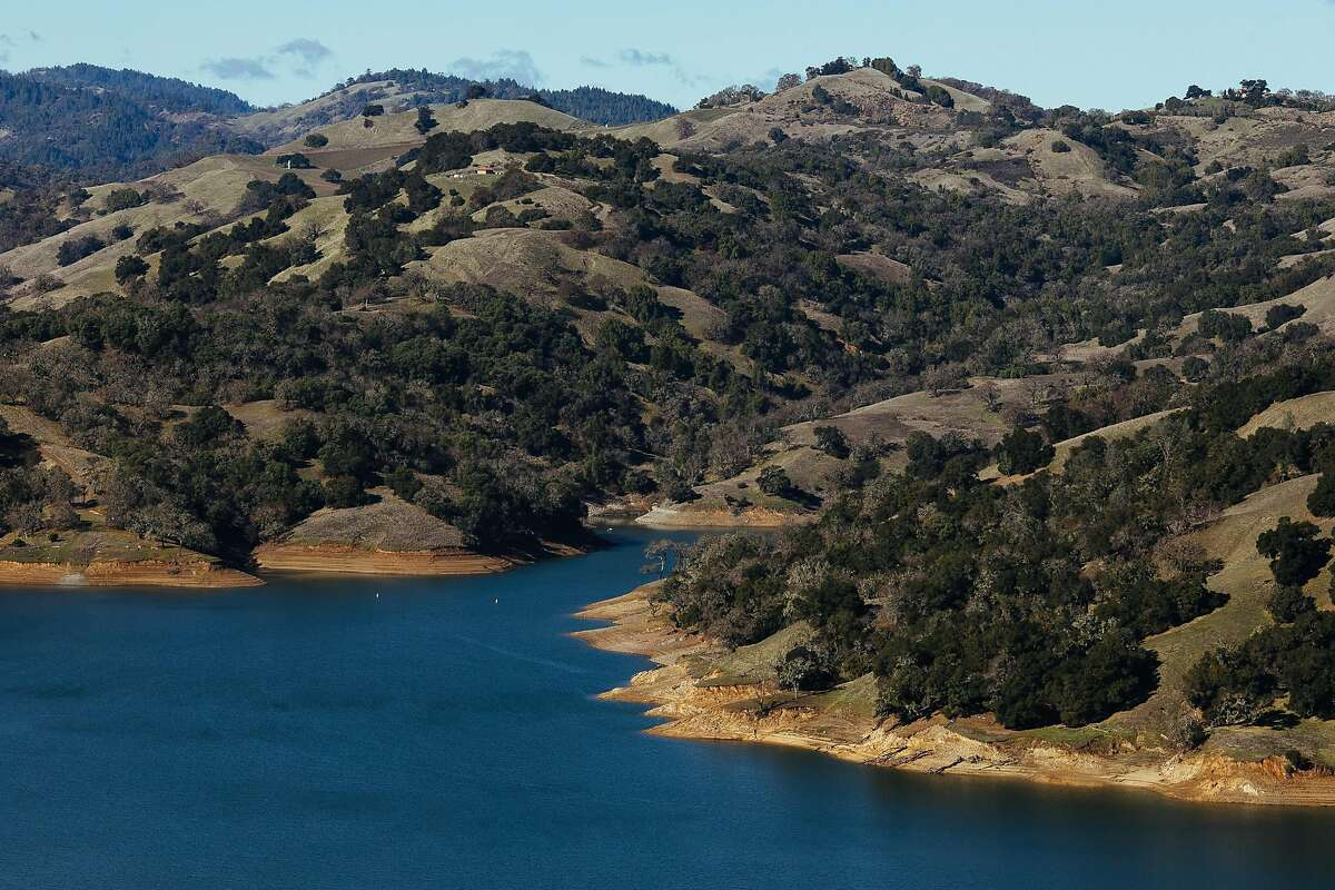 Lake Sonoma photographed in Geyserville, Calif. Saturday, Jan. 6, 2018.