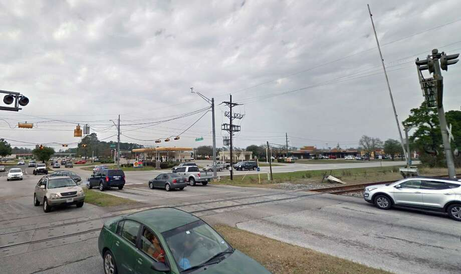 The first phase of Northpark Drive improvements include construction of an overpass above Loop 494 and Union Pacific railroad tracks in Kingwood. Photo: Courtesy Of Google / Courtesy Of Google