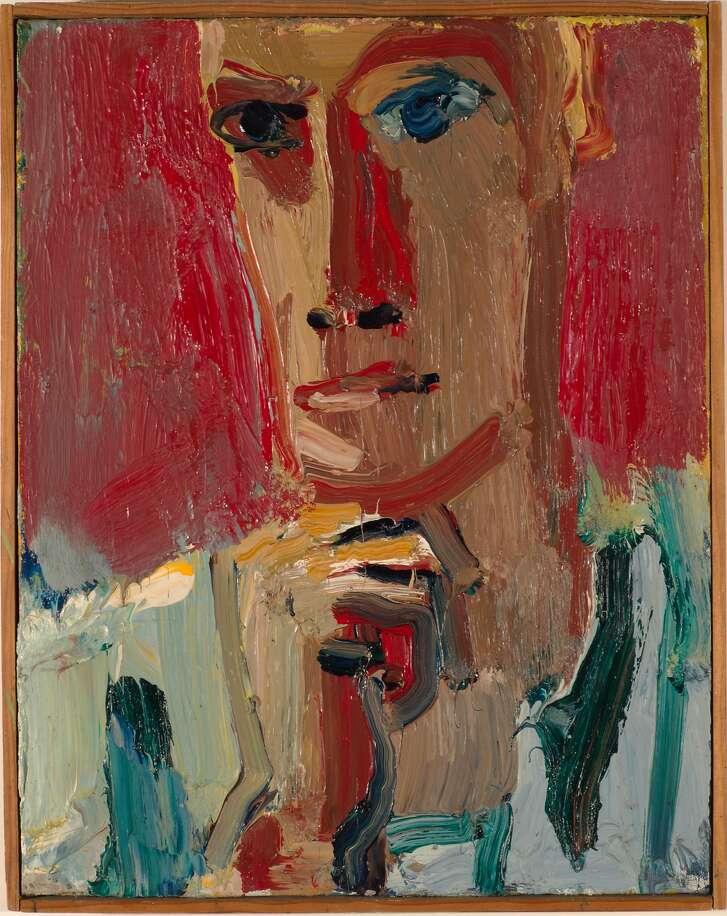 "David Park, ""Red Man in Striped Shirt"" (1959)"