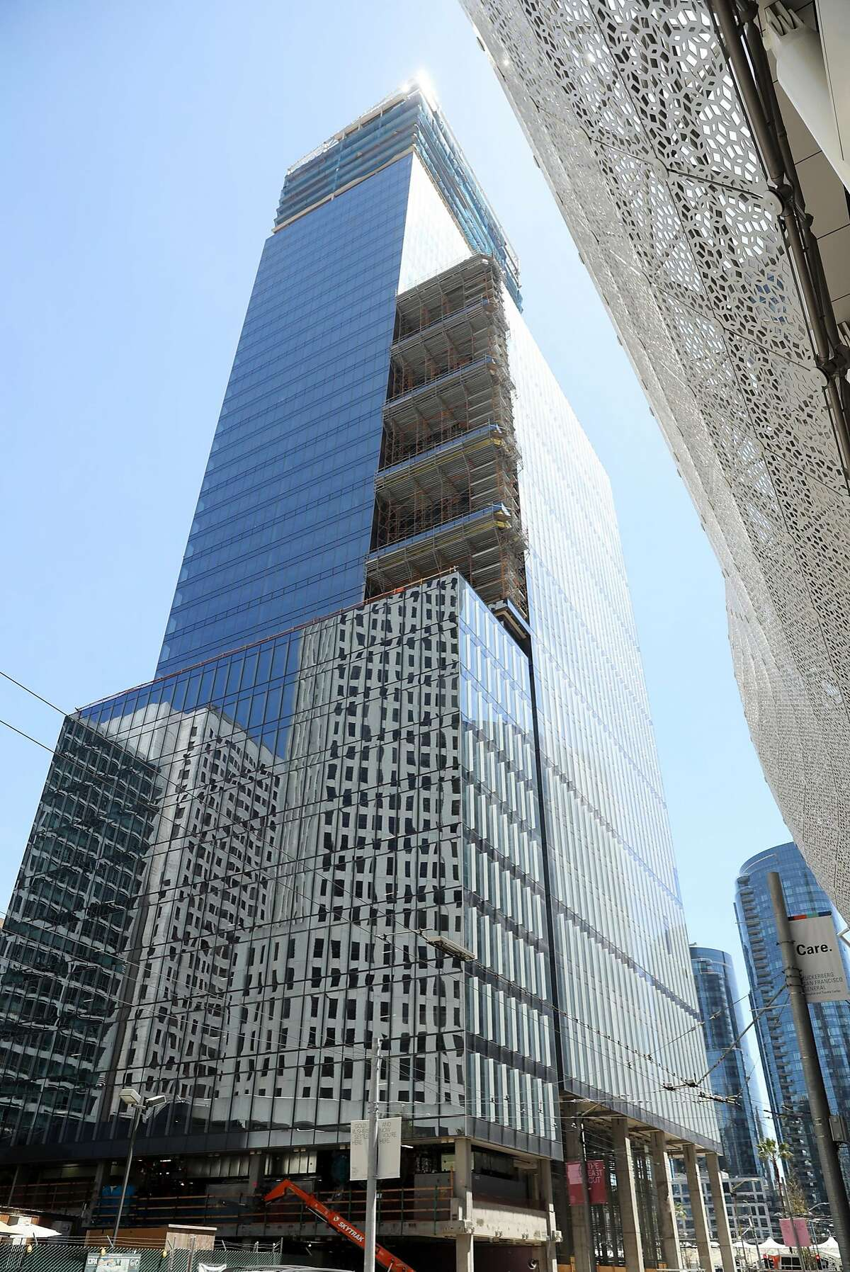 The Park Tower at Transbay is being built at 520 Howard Street in San Francisco, CA on Friday, May 11, 2018.