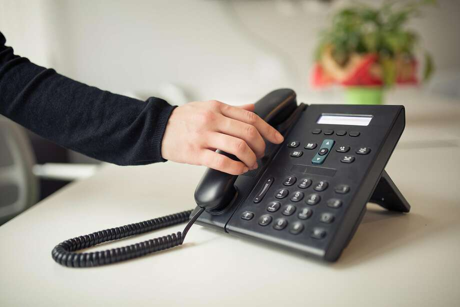 A scourge of scam phone calls befall San Franciscans during tax season, a new study finds.  Photo: Dreamstime, TNS