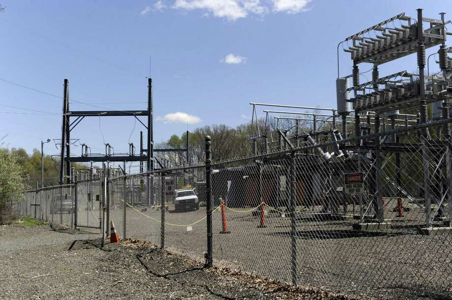 The Eversource substation at 49 Stony Hill Road in Brookfield. Photo: Carol Kaliff / Hearst Connecticut Media / The News-Times