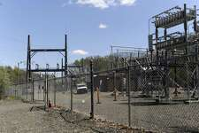 The Eversource substation at 49 Stony Hill Road in Brookfield.