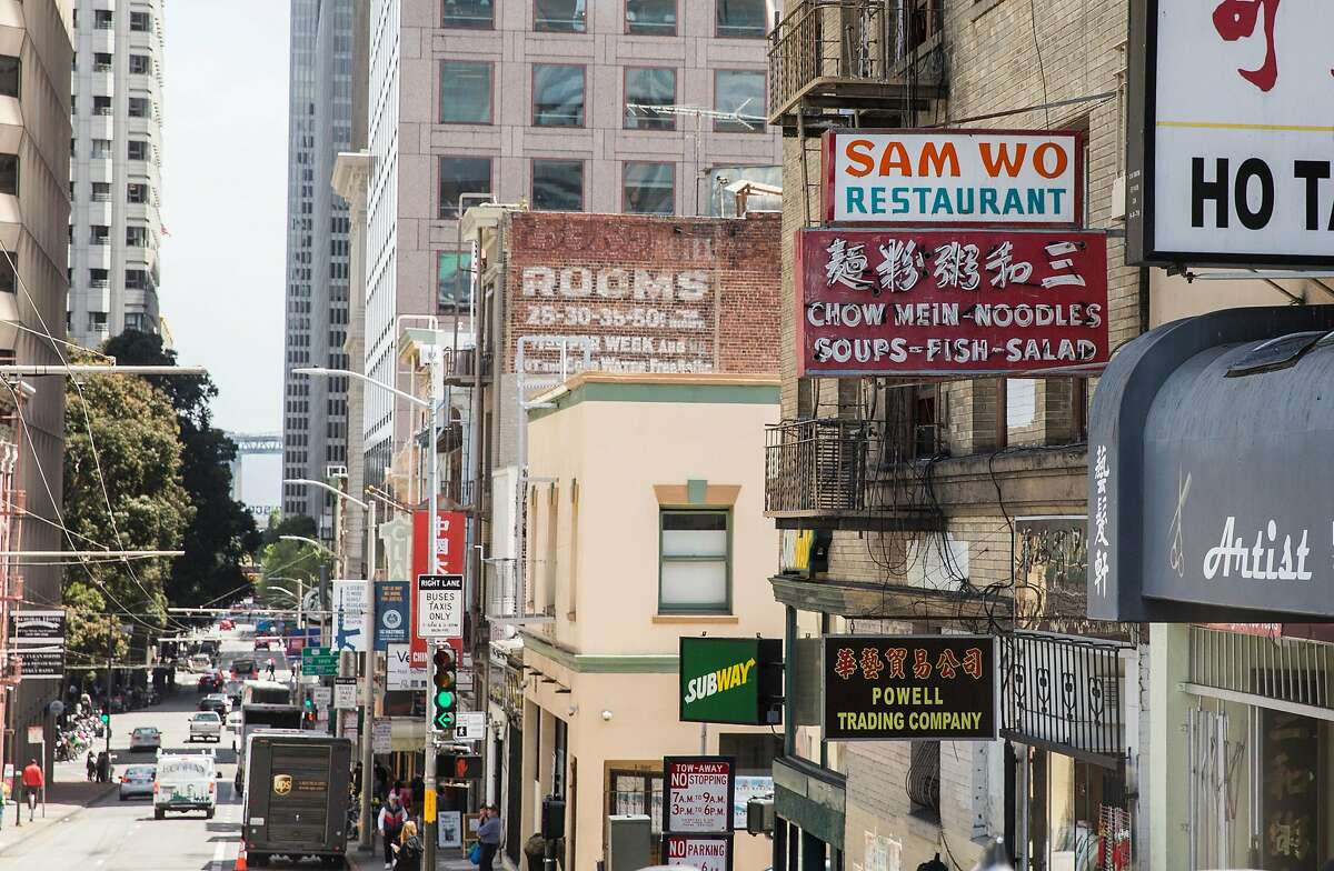 Chinatown's Sam Wo Restaurant is seen on Clay Street Thursday, May 10, 2018 in San Francisco, Calif.