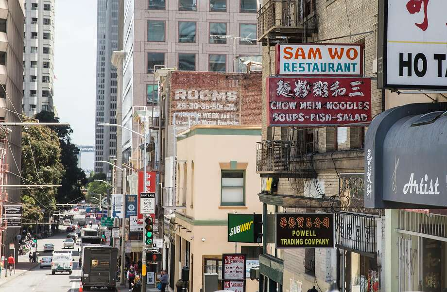 Chinatown's Sam Wo Restaurant opened shortly after the 1906 earthquake and soon became a staple. Photo: Jessica Christian / The Chronicle