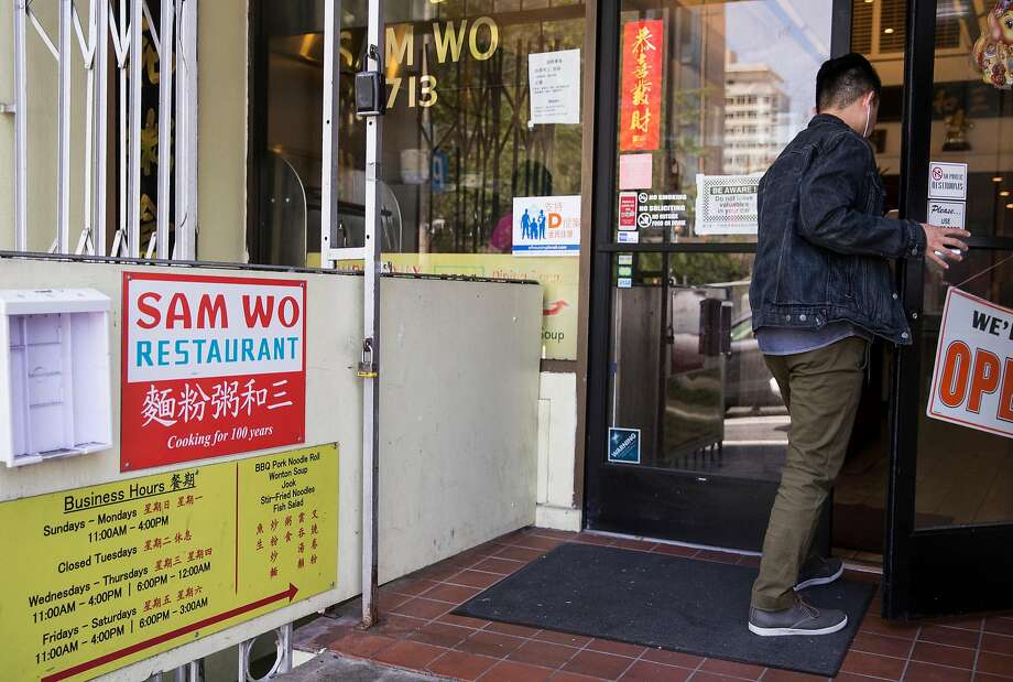 Sam Wo Restaurant, a symbol of San Francisco's resilience, is famous for late nights and cheap eats. Photo: Jessica Christian / The Chronicle