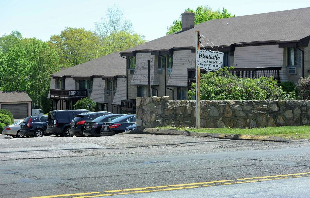 Monticello Gardens apartments 4100 Park Ave. in Brodgeport on Friday .