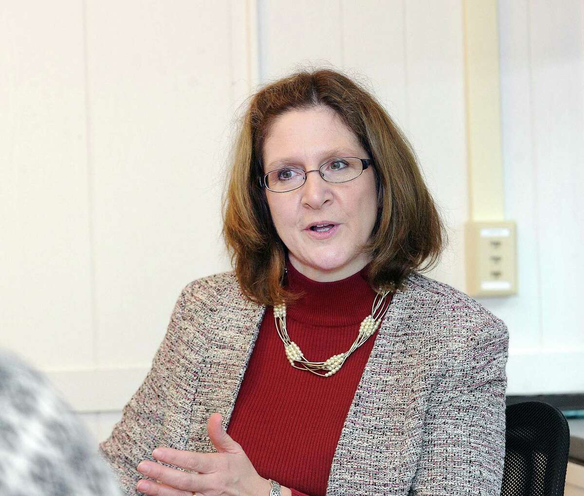 Greenwich Superintendent of Schools Jill Gildea.