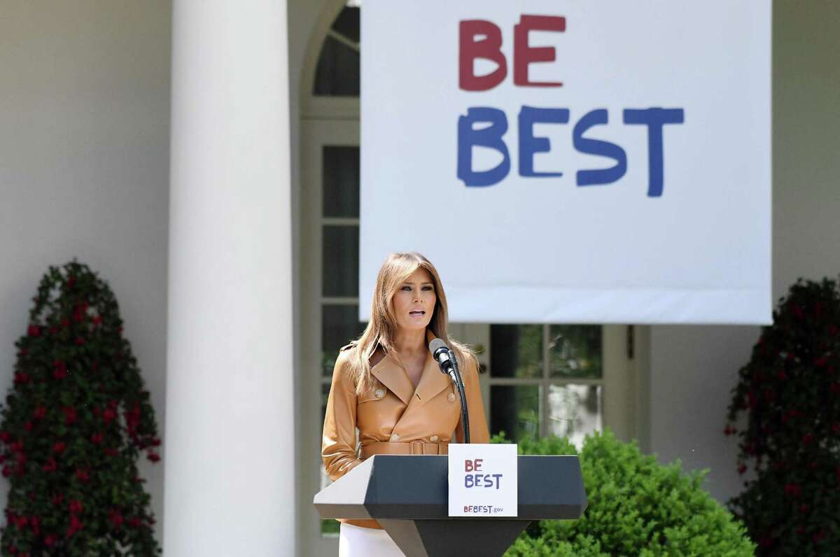 """Reports indicate first lady Melania Trump's """"Be Best"""" campaign borrows heavily from a FCC document. A reader calls that unfortunate and inexcusable."""