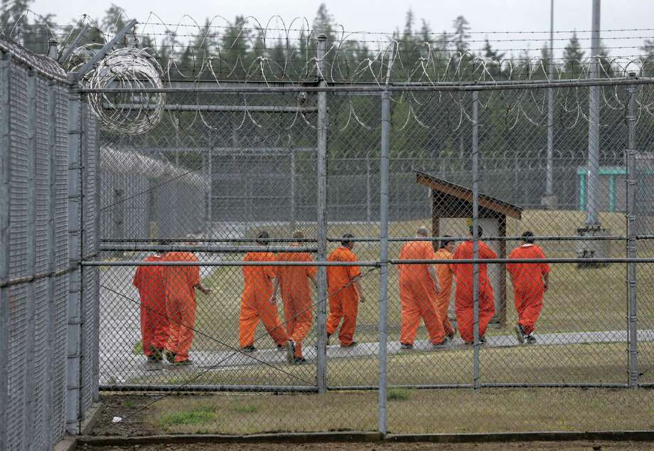 A multidisciplinary approach to criminology research will be key to finding meaningful solutions to crime and recidivism. Here, prisoners walk toward an exercise yard at the Washington Corrections Center, in Shelton, Wash., in 2015. Photo: Ted S. Warren /Associated Press / AP