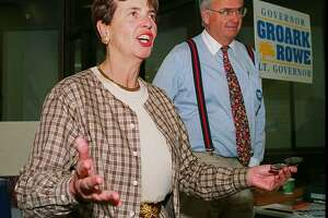 An undated photo of Eunice Groark, who served as Connecticut Lieutenant Governor with Gov. Lowell P. Weicker Jr. from 1991 to 1995 and helped lead the launch of the state income tax