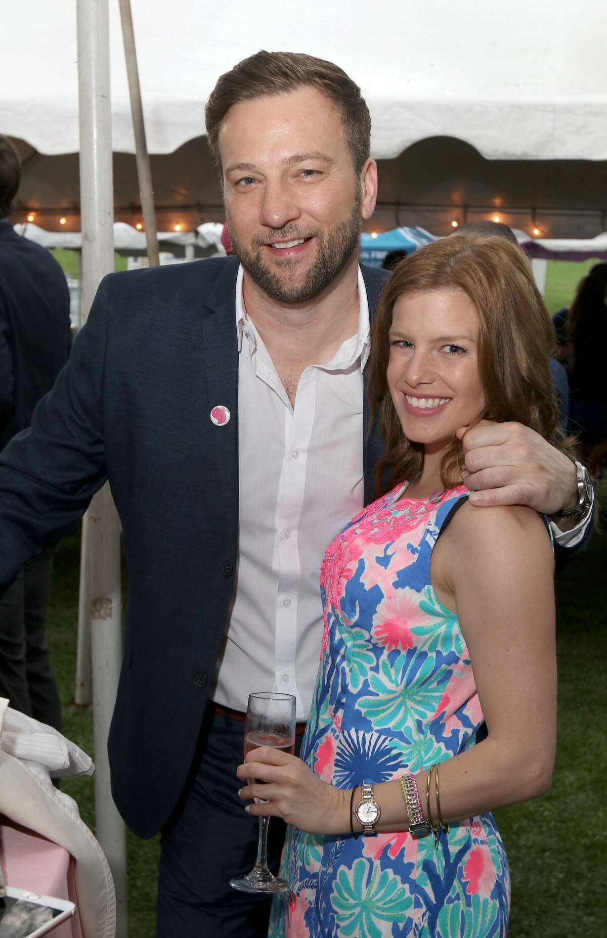 Were You Seen at Champagne on the Park, to benefit the Lark Street Business Improvement District, held in Albany's Washington Park on Thursday, May 10, 2018?