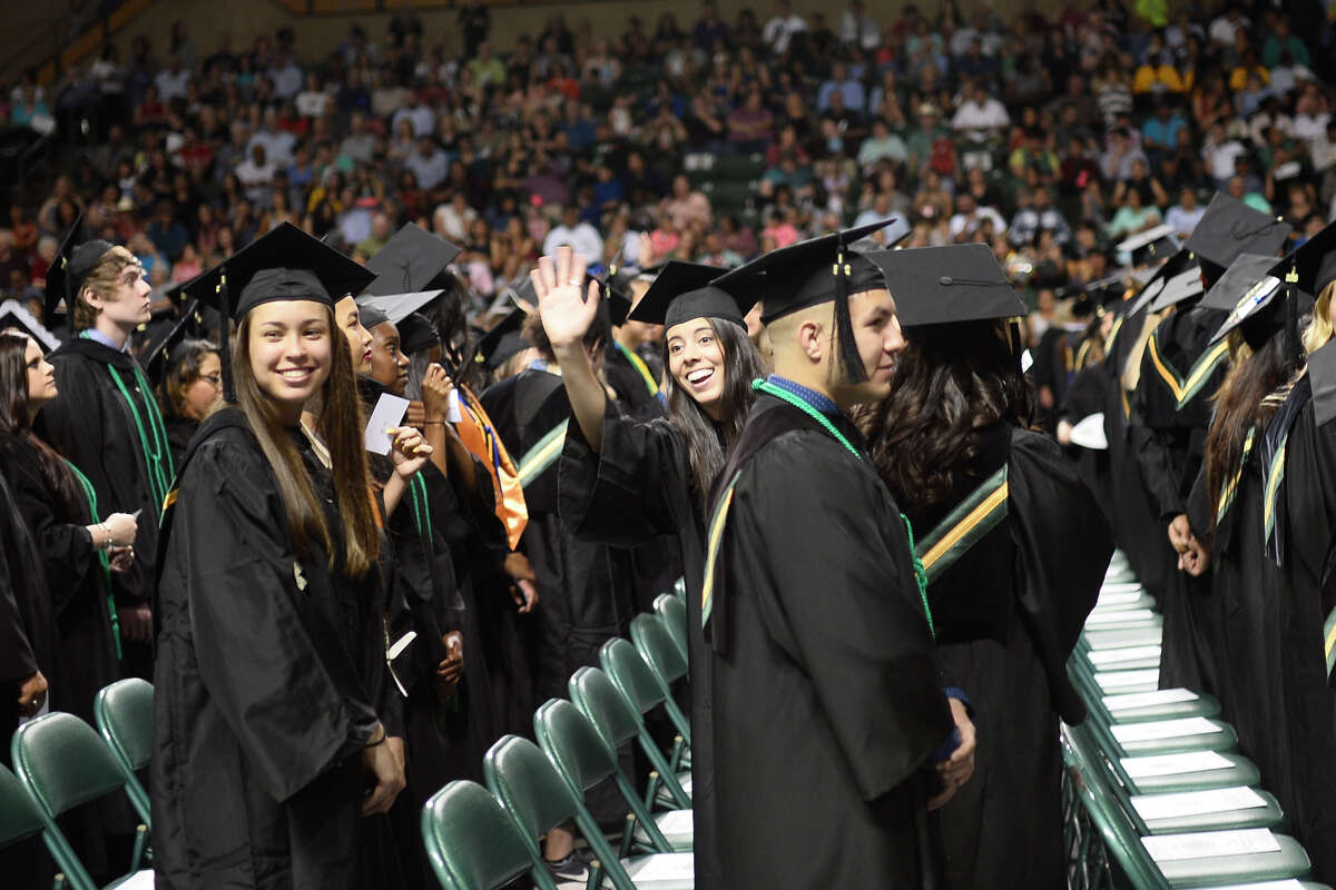 Midland College commencement ceremony May 11, 2018, at Chaparral Center. James Durbin/Reporter-Telegram