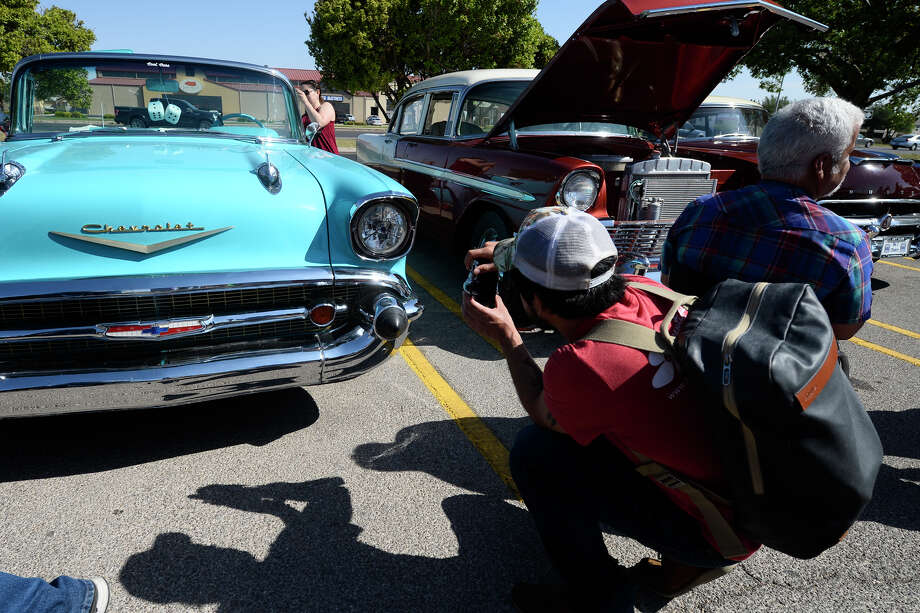 Permian Basin Cars and Coffee meet May 12, 2018 near Barnes and Noble on Loop 250. James Durbin/Reporter-Telegram Photo: James Durbin