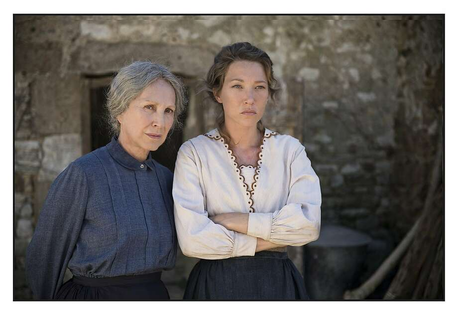 """Nathalie Baye and Laura Smet in Xavier Beauvois' """"The Guardians."""" Photo: Music Box Films"""