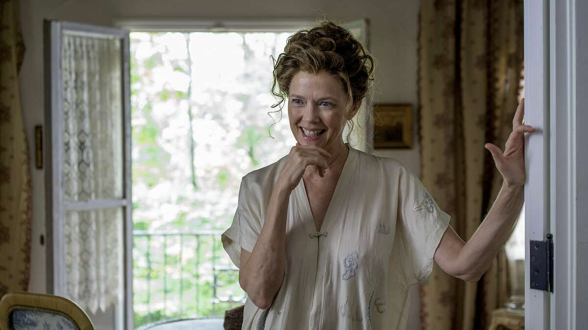 """This image released by Sony Pictures Classics shows Annette Bening in a scene from """"The Seagull."""" (Nicole Rivelli/Sony Pictures Classics via AP)"""