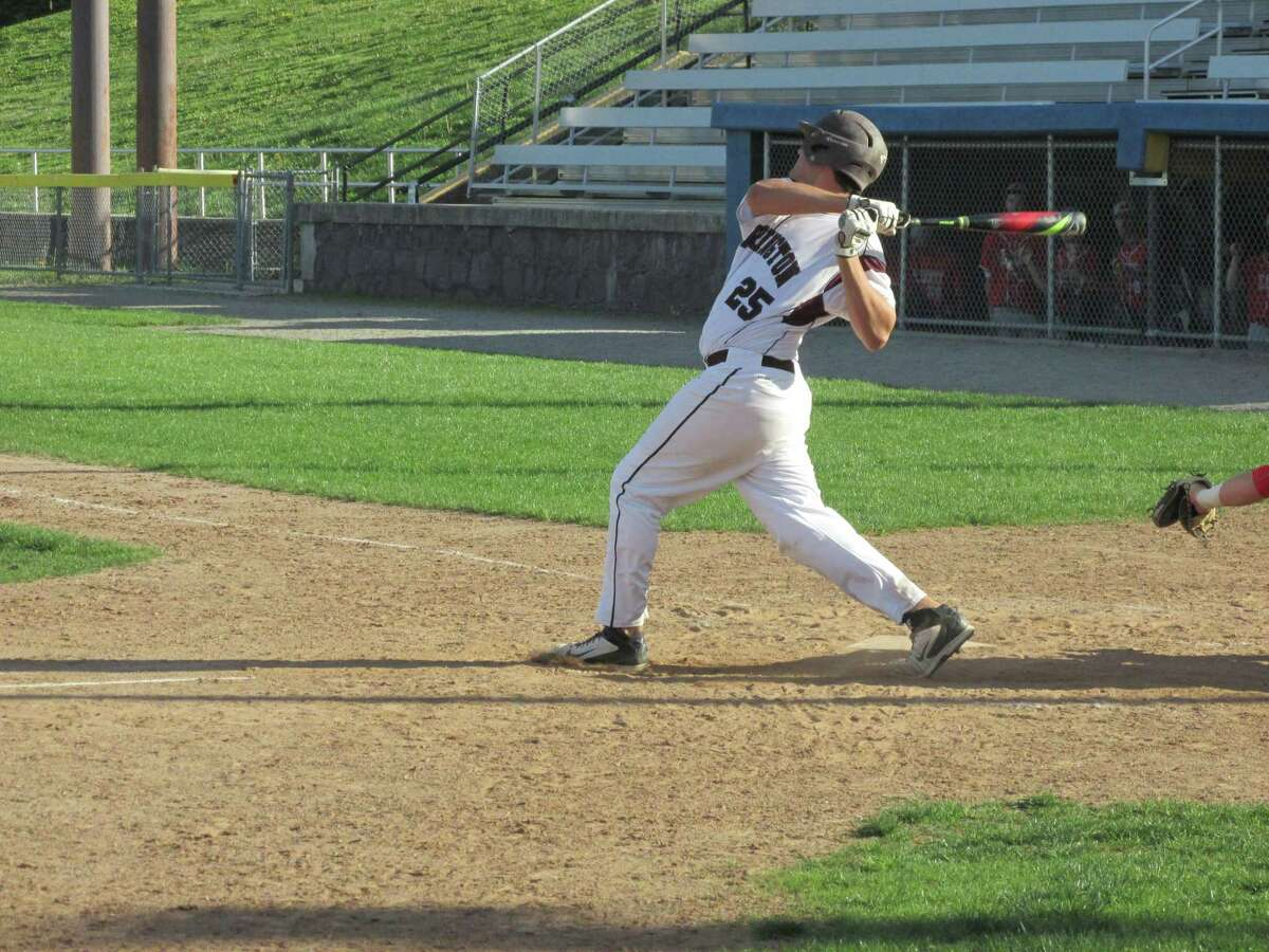 Torrington's Mike Paniati drove in three runs in a losing effort against Wolcott Friday afternoon at Fuessenich Park.