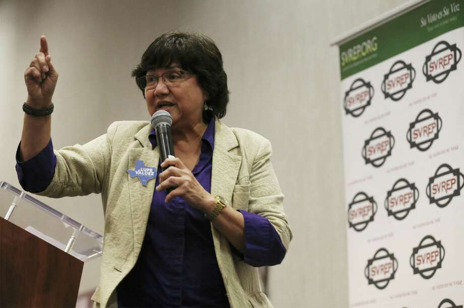 Democratic gubernatorial candidate Lupe Valdez, seen in San Antonio on May 9, says health care will get much-needed attention once she's in charge Photo: Kin Man Hui /San Antonio Express-News / ©2018 San Antonio Express-News