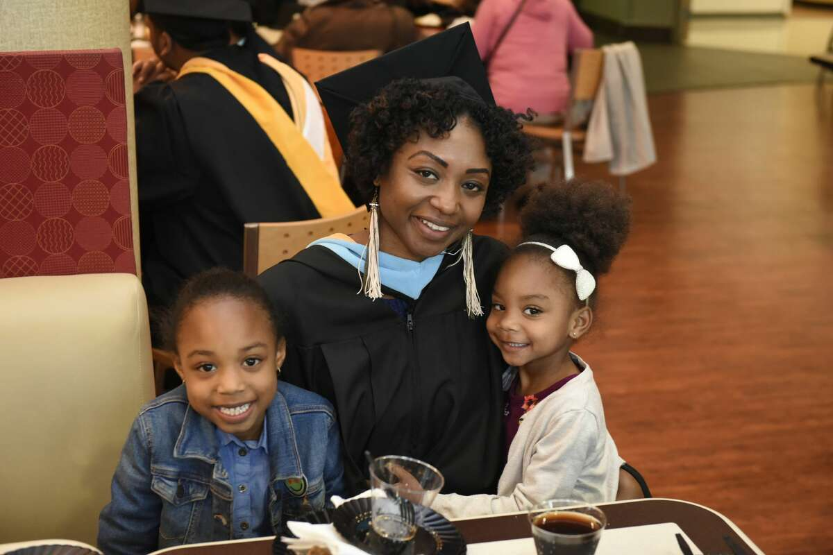 Were you Seen at The College of Saint Rose commencement on May 12, 2018, at the Times Union Center?